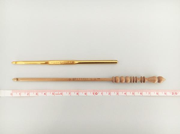 かぎ針の比較 ~クロバーとブリタニー