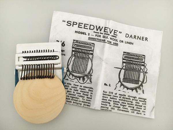 繕いもの ~小さな織り機 Speedweve