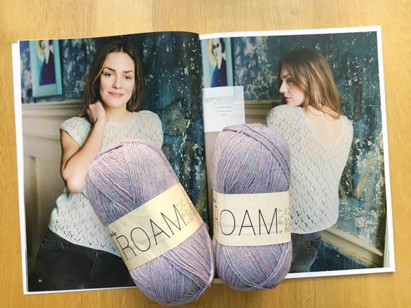 また新しいセーターを編み始めます 〜Halcyon