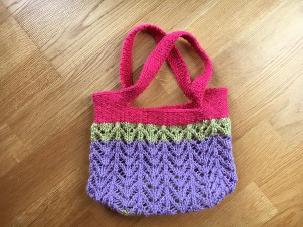 いままで編んだもの ~Montavilla Market Bag