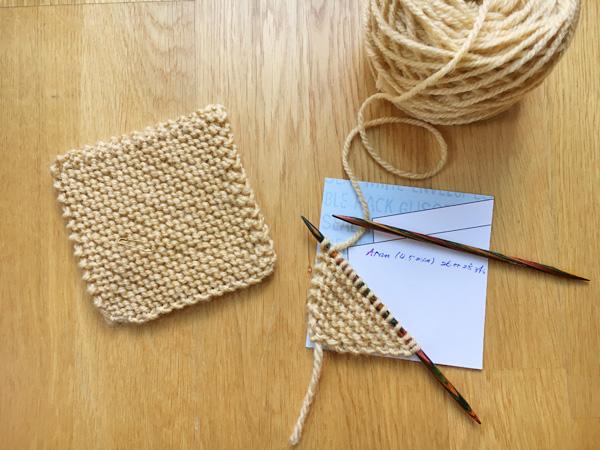 ブランケットのプロジェクト ~10cm角モチーフの編み方
