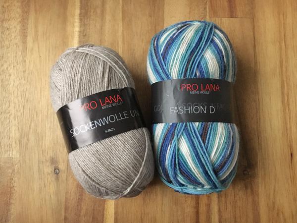Pro Lanaの毛糸、ドイツ語パターン