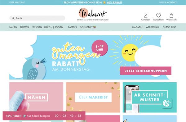 ドイツの編み物パターンサイト Makerist(メイカリスト)