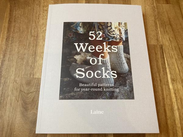 52 Weeks of Socks(ペーパーバック版)を購入しました