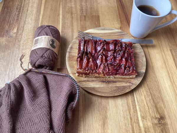 Zwetschgenkuchen 西洋スモモのケーキ
