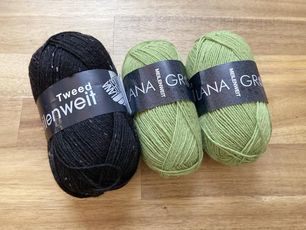 WollzauberでLana Grossaの毛糸を購入